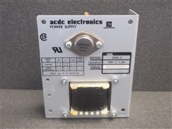 USED  ACDC ELECTRONICS POWER SUPPLY ( 24N1.29-24V@1.2A)