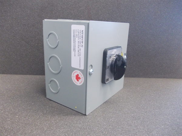 Usa Universal Changeover Switch Manual Generator 3pdt