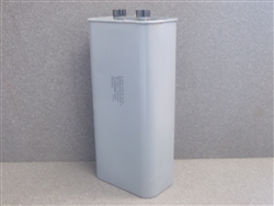 USED RONKEN AC CAPACITOR 3.3Mf, 3750VAC  60HZ