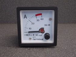 AC 0-30A ANALOG Panel Ammeter (48MM x 48MM)