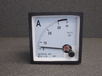 AC 0-30A ANALOG Panel Ammeter (72mmx72MM)