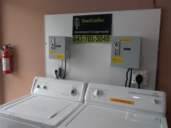 NEW SMARTCOINBOX House Washer Coin Kit Conversion ( FREE SHIPPING  CONTINENTAL USA ONLY ) MADE IN CANADA!