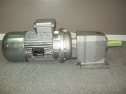 New Capernelli Motor coupled to Bonfiglioli Gear Box