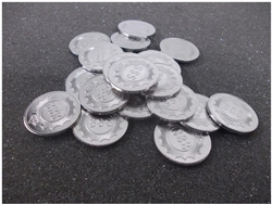 METAL TOKENS ( SET OF 100 PCS)
